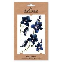 Miamitats Переводные тату Black Orchid
