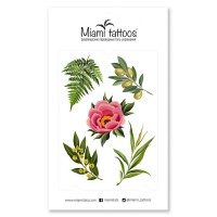 Miamitats Переводные тату Botanical by Sticksandbones