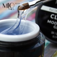 MIO nails Гель для наращивания прозрачный,средней вязкости 15 гр
