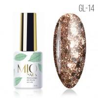 Гель лак MIOnails № GL-14. 8 ml