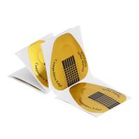Бумажные формы для наращивания широкие 20 шт