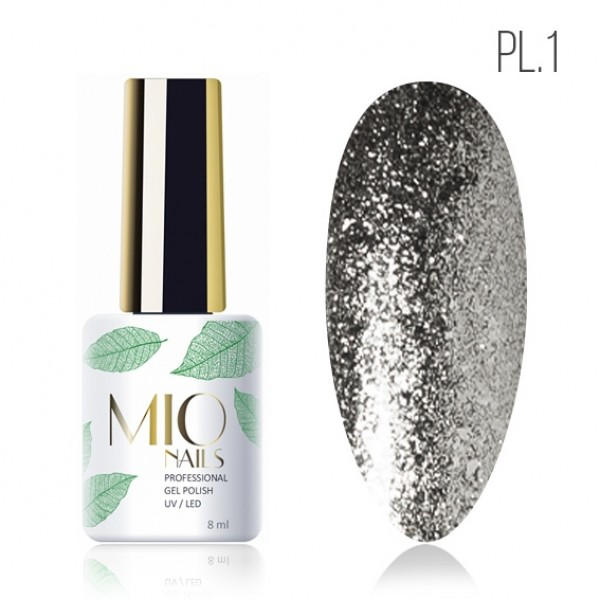 MIO гель-лак Platinum № 1 8 мл