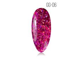 Гель-лак. Коллекция «Glitter Gel» № 06