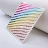 Гибкая лента для дизайна ногтей, мультиколор