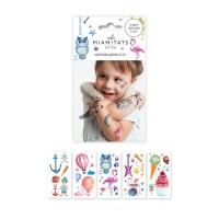 Miamitats Набор переводных тату Funny Kids (5 листов)