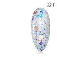 Гель-лак. Коллекция «Glitter Gel» № 11