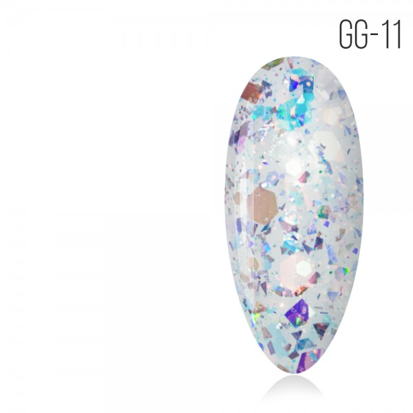 MIOГель-лак. Коллекция «Glitter Gel» № 11