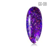 Гель-лак. Коллекция «Glitter Gel» № 08