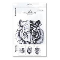 Miamitats Набор переводных тату Animals spirit