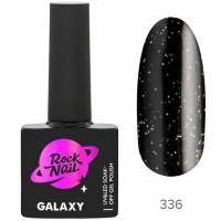 Гель-лак RockNail Galaxy 336 Black Hole