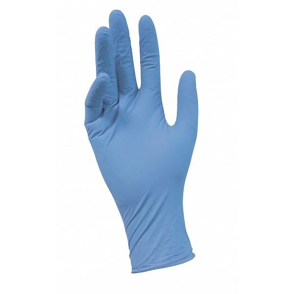 NitriMAX голубые смотровые перчатки,размер L(50 пар)