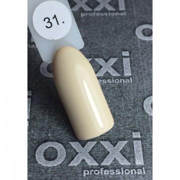 Гель лак Oxxi №031 (бледный желтый, эмаль),8 ml